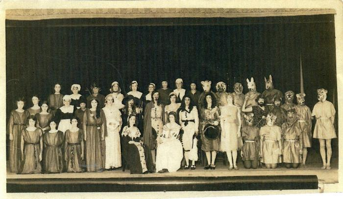 Photo from school play 1932