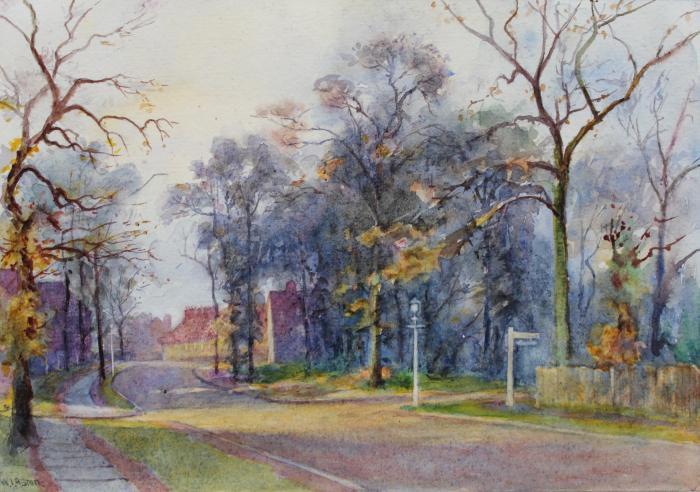 Painting of Addison Way