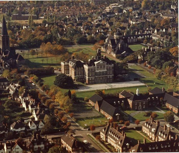 Aerial Photograph of Central Square