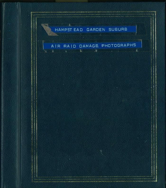 Cover of photograph album
