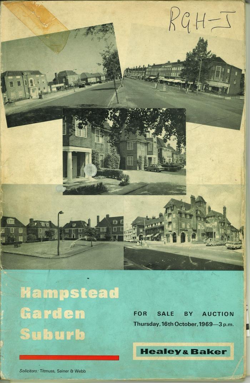 Hampstead Garden Suburb Auction Book