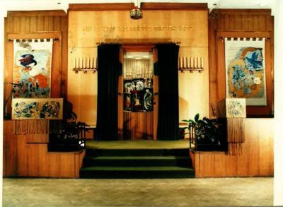 alyth Synagogue interior today