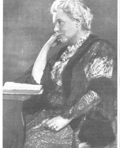 Henrietta Barnett in profile