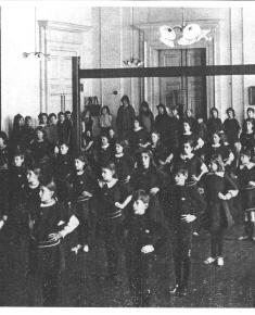 Photo of Henrietta Barnett School Gym 1911