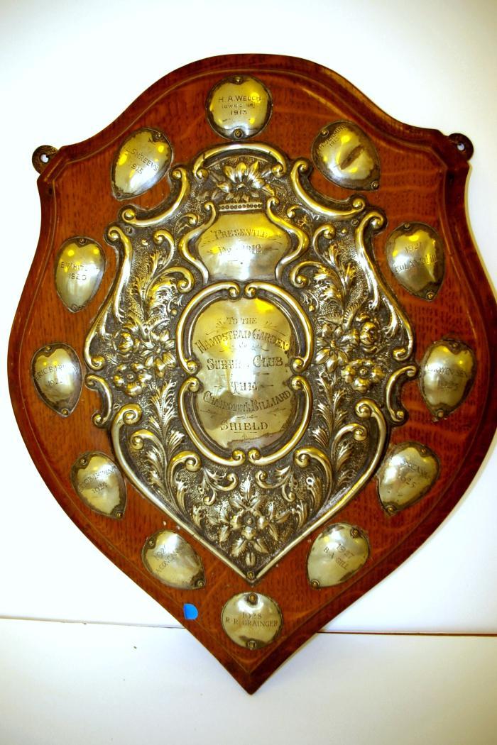 Chairman's Billiards Shield