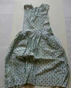 Old Uniforms - Light blue floral dress