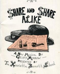 Front cover of Share and Share alike programme