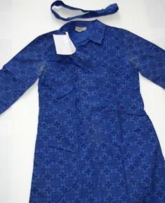 Old Uniforms - Blue Dress and Belt