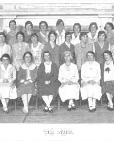 Henrietta Barnet School Staff Photo 1932