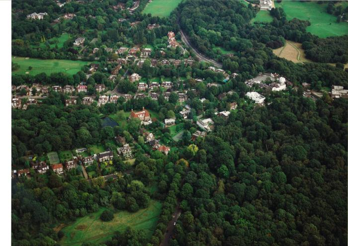 Aerial Photograph or Turner's wood