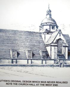Design of Free Church never realised