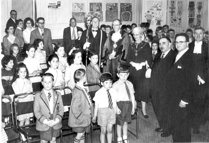 Civic Visit to Kerem School
