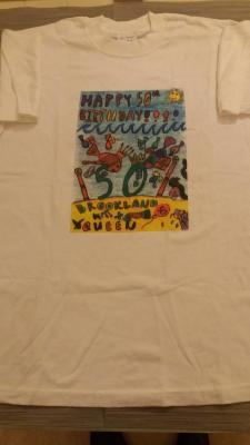 50th Birthday T Shirt Design