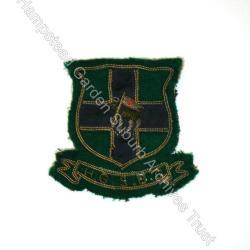 Bowls club blazer badge