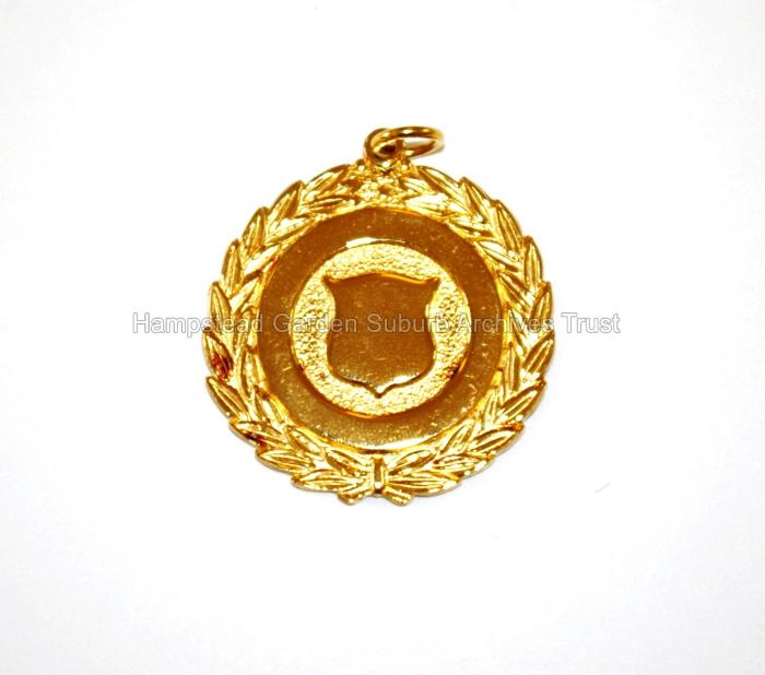 Hampstead Garden Suburb 75th Anniversary Gold Badge