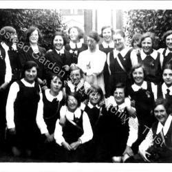 Henrietta Barnett School sports day 1930