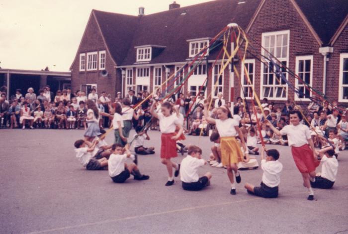 May Day Garden Suburb School mid 1960s