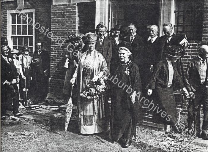 Queen Mary visit 1924