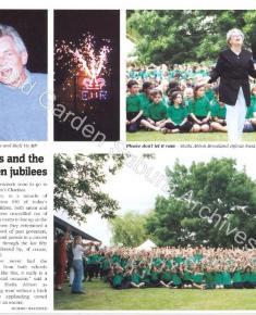 Suburb News 2002, re: Brookland & HM Queen Elizabeth Golden jubilees