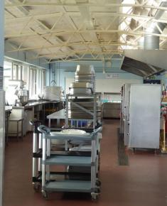 Kitchen looking towards Junior school