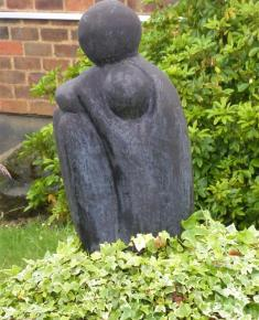 Mother and Child II donated by sculptor Naomi Blake
