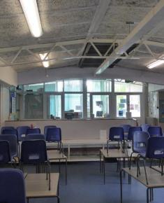 Back of Infant school hall