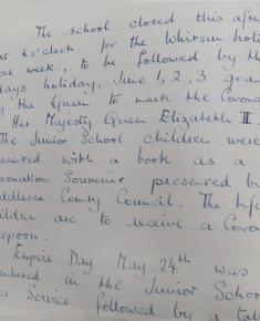 Whitsun and Coronation holidays 1953