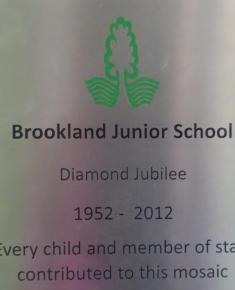 Diamond jubilee artwork plaque 2012