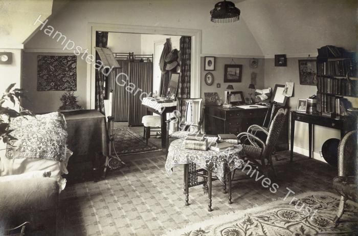 Waterlow Court Interior 1910