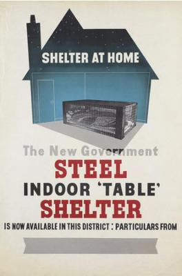 WW2 table shelter