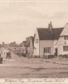Census 1911 - Willifield Way postcard