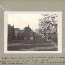 Census 1911 - Wyldes Farm Houses