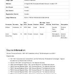 Census 1911 - 02 Hogarth Hill